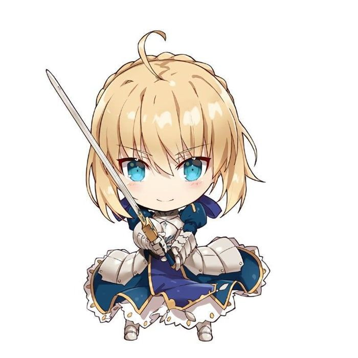 Red Of Saber Fate Stay Night Honda Sticker