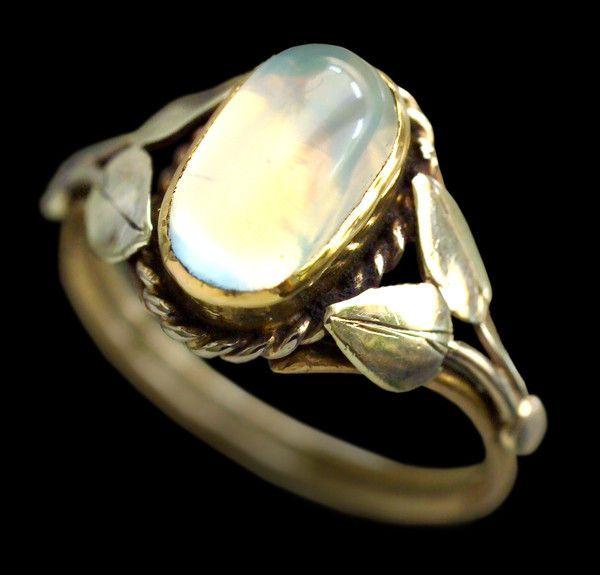 British Arts Crafts Ring Ca 1905 Tadema Gallery Movement Jewelry European Jewelry Art Nouveau Jewelry