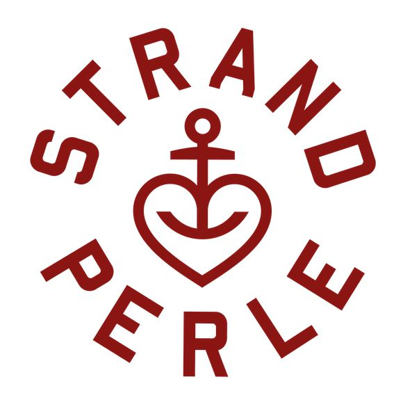 Strandperle #Hamburg #Logo #Mark #Brand #Symbol #Heart #Anchor #LogoDesign #Logotype #Enbleme