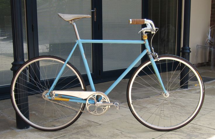 Vickers Bicycle Co's Sundown Town. Inspired by Richard James.