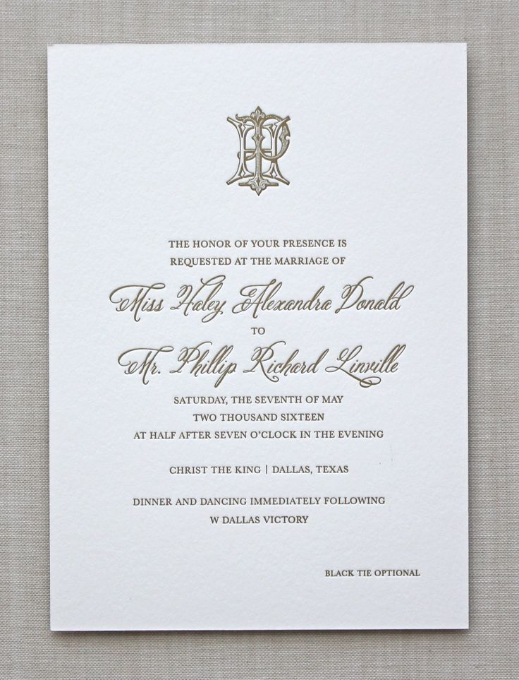 Best 25+ Traditional wedding invitations ideas only on Pinterest ...