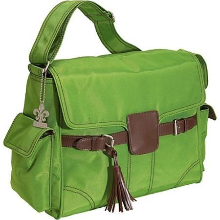 Kalencom Kelly Messenger Diaper Bag - Grass