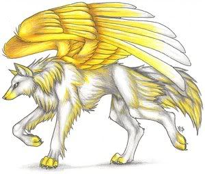 anime angel wolf | ஐPack of Misfitsஐ (RP only)