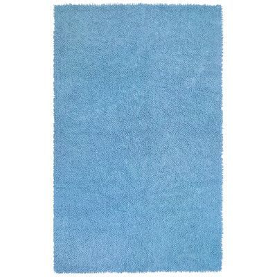 "St. Croix Shagadelic Light Blue Area Rug Rug Size: 2'6"" x 4'2"""