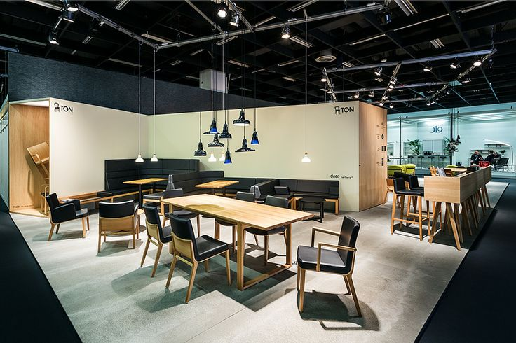 Moritz chairs and Delta table were a part of our exhibition in Cologne, 2014