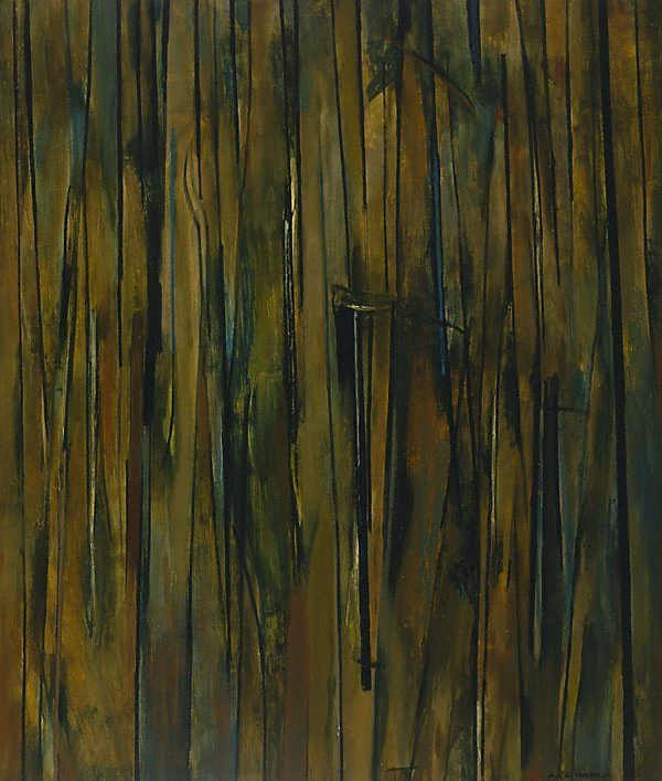Sherbrooke Forest, 1961, by Fred Williams. Art Gallery of NSW