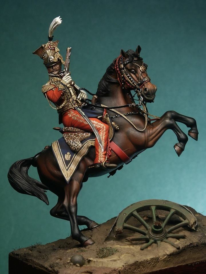 General Edouard de Colbert - 1815 - Virtual Museum of Historical Miniatures