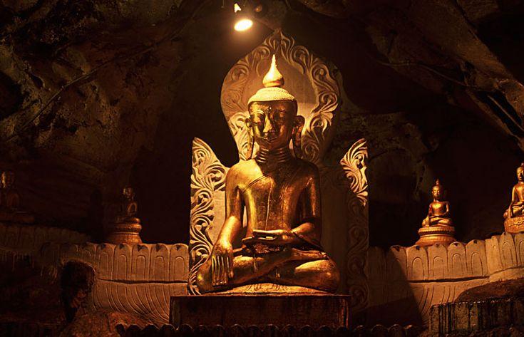 Pindaya Caves, Pindaya, Myanmar (formerly Burma)