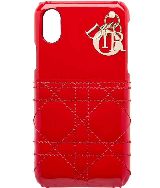 f634dac74985 Lady Dior Patent Cannage Stitching iPhone Case | Bags :-) | Dior ...