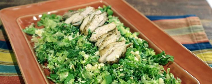 Mexican Chicken Caesar Salad Recipe by Clinton Kelly - The Chew