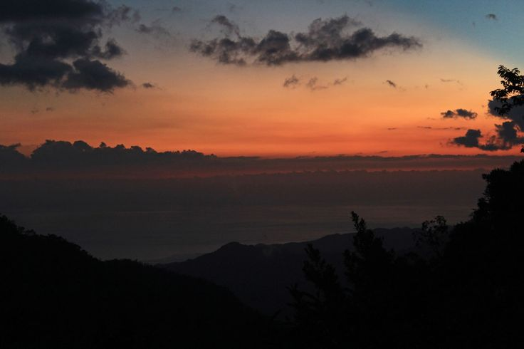 #cuba #sierra #maestra #montagne #mountain #pico #turquino #sunset