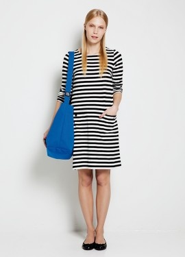 Tunic or dress? No matter, as long as it is striped.