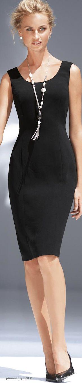 Madeleine, Little black dresses and White earrings on ...