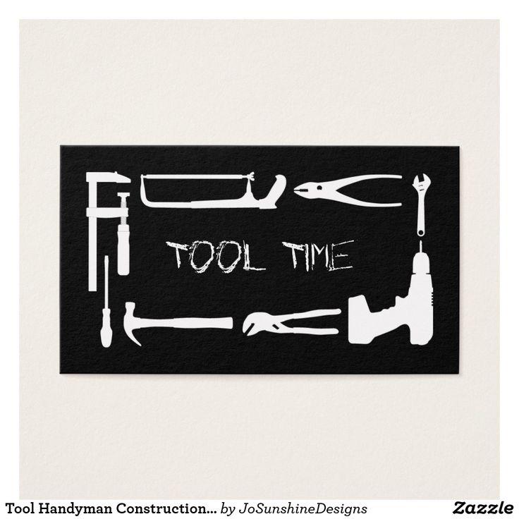 Tool Handyman Construction Black White