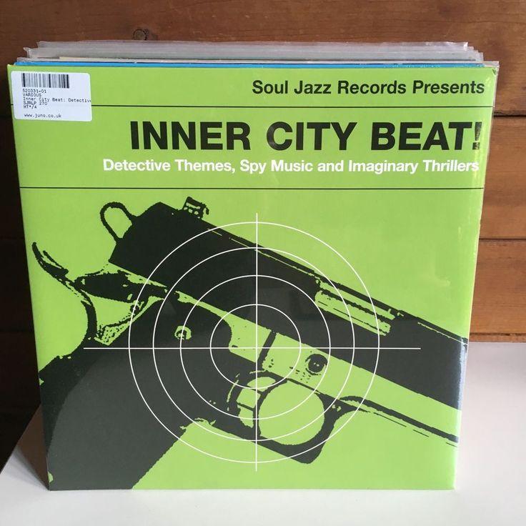 INNER CITY BEAT Detective Themes Spy Music 2xLP 2014 Soul Jazz SEALED NEW #BigBandSwingJazzFunkFusionSoulJazz
