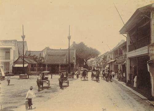 De Chineese tempel Kapasan te Soerabaja 1900.