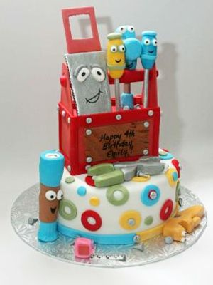 14 best handy manny cake images on pinterest birthdays for Handy manny decorations
