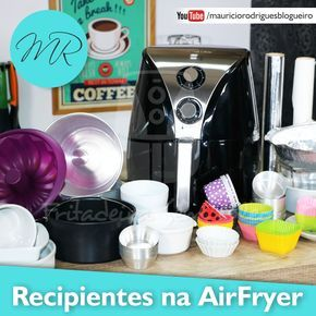 Receitas para Fritadeira Sem Óleo AirFryer / Air Fryer. Receitas com passo-a-passo de Doces, Salgados, Dicas, Dúvidas, Vídeos, Grupos e muito mais!