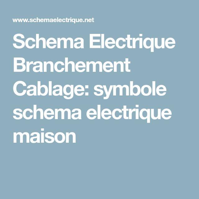 7 best Electricité images on Pinterest Electric, Bricolage and - couleur fil electrique phase