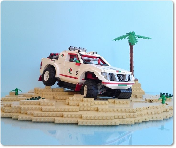 Awesome+LEGO+Stuff | This is just awesome. This Nissan truck model is incredibly detailed ...