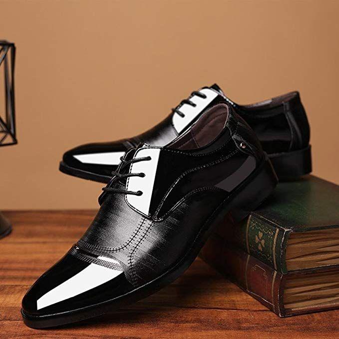 PLOT Lederschuhe für Herren, Festliche Schuhe für Bräutigam