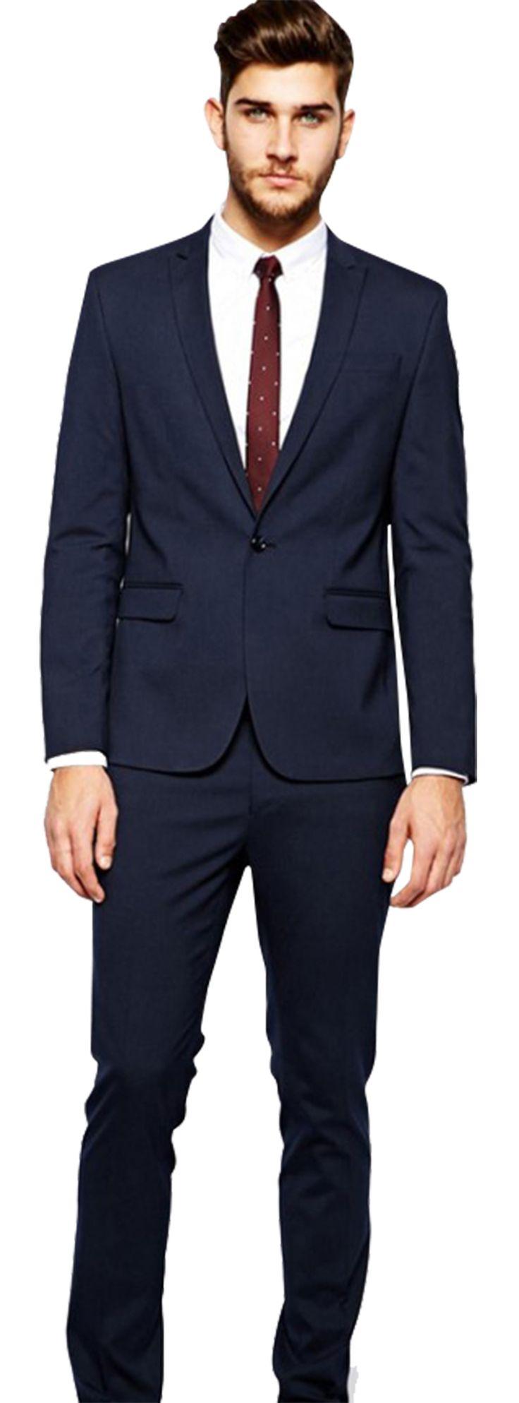 Navy Blue Suit Formal