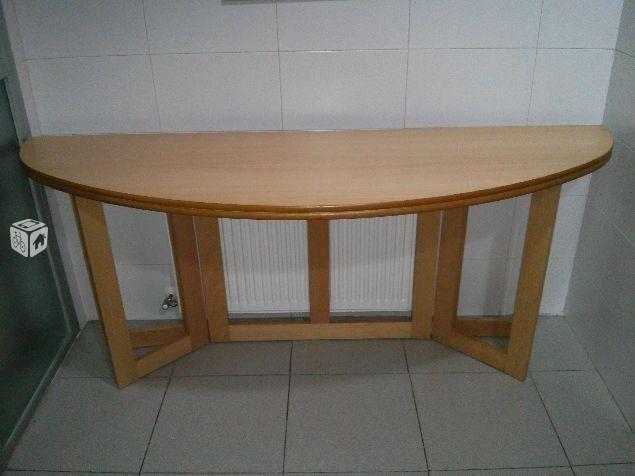 M s de 1000 ideas sobre mesa ovalada en pinterest mesas - Mesa estudio plegable ...