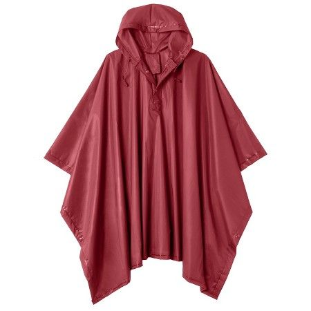 Totes Rain Poncho - Red