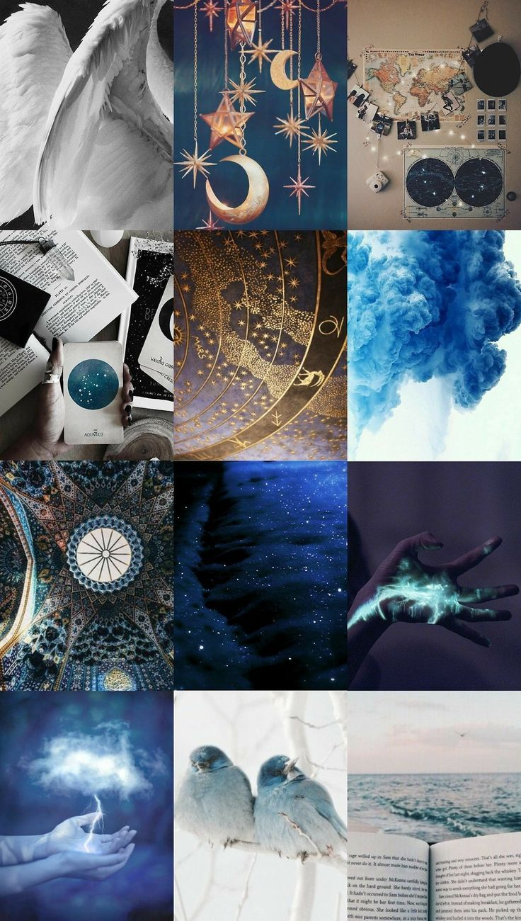 51fc2ccd5 Mood Board | Color Wheel in 2019 | Aquarius aesthetic, Witch ...