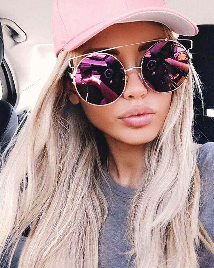 Ray-Ban Erika Wayfarer Sunglasses, Light Havana, 54 mm