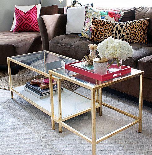 Die besten 25+ Ikea glastisch Ideen auf Pinterest ikea Büro - couchtisch weiss design ideen
