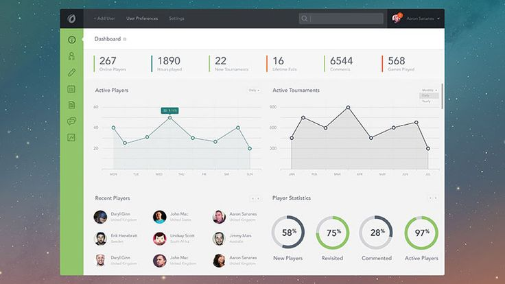 Free Beautiful UI Elements For Your Next Web Application Design