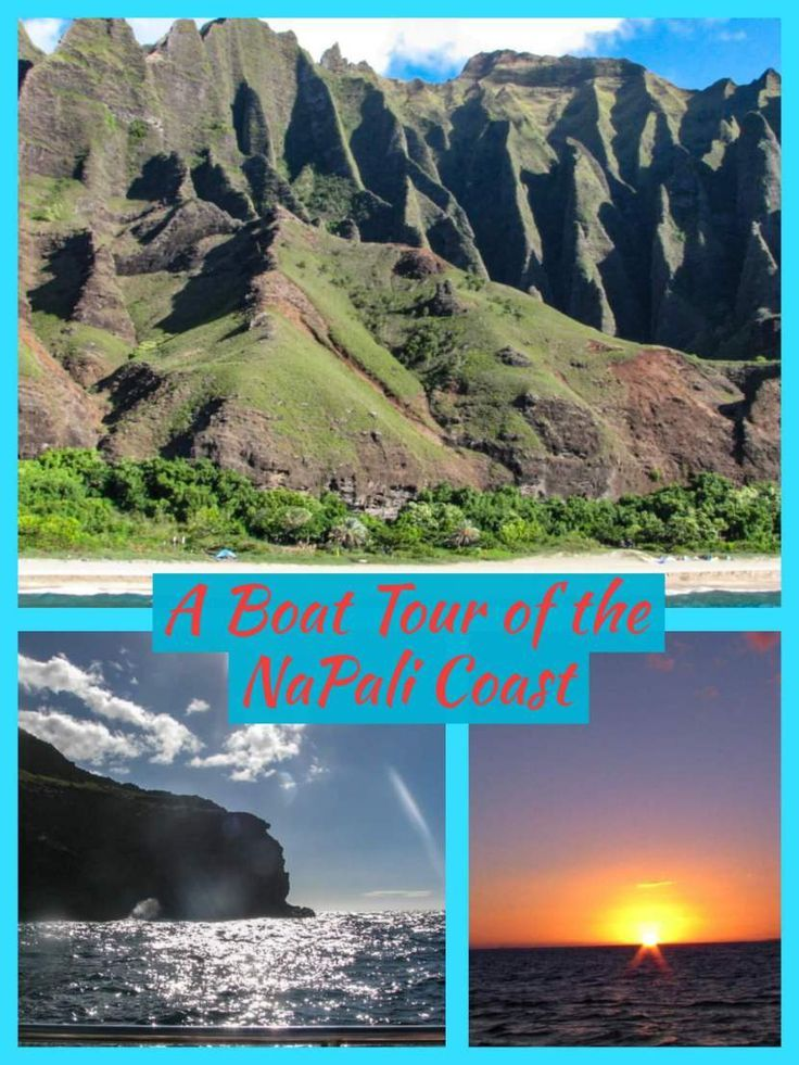 Napali Coast Boat Tour In Kauai At One Of Hawaii S Magical