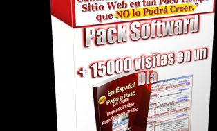 YO te Envío Software Generador de VISITAS REALES + 10 SOFTWARES REGALO for 9,00€