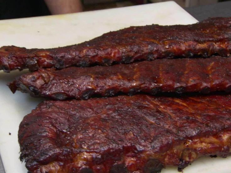 BBQ Ribs recipe from Robert Irvine via Food Network