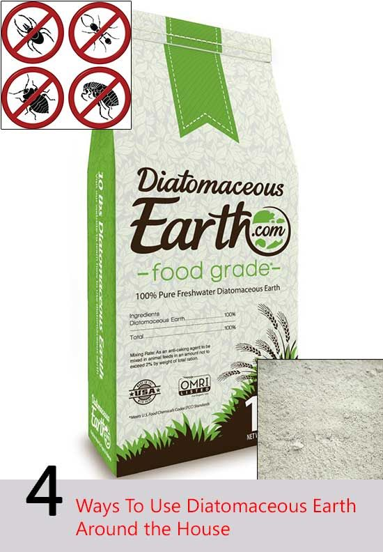 17 best images about diatomaceous earth food grade on - How to use diatomaceous earth in the garden ...