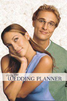 *THE WEDDING PLANNER, 2001, Poster ~ Starring: Jennifer Lopez, Matgthew McConaughey, & Bridgette Wilson-Sampras.