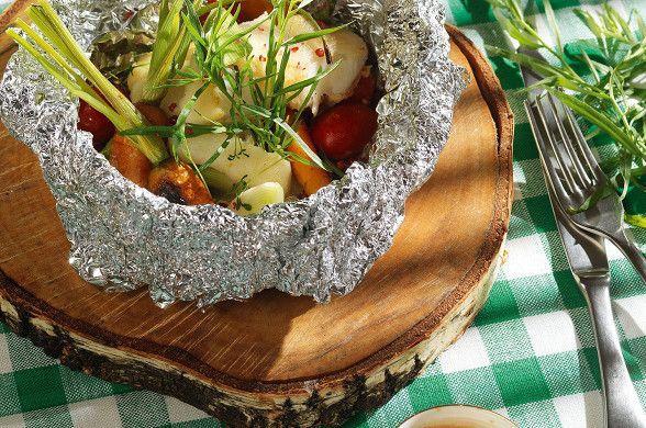 Палтус, запеченный в фольге рецепт – основные блюда. «Афиша-Еда»