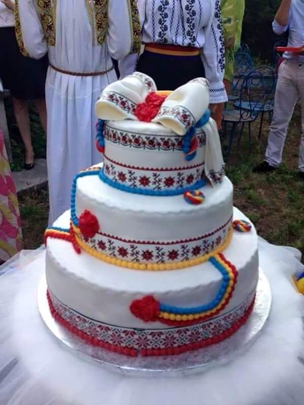 Romanian traditional looking cake