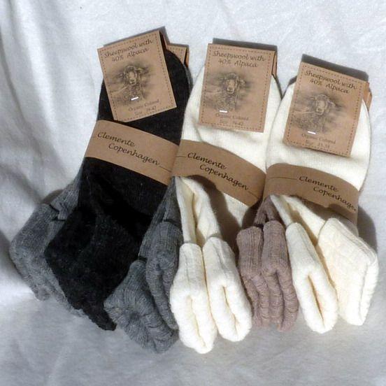 Clemente Dame uldstrømper