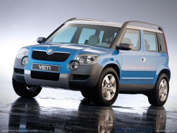Skoda Yeti Concept car