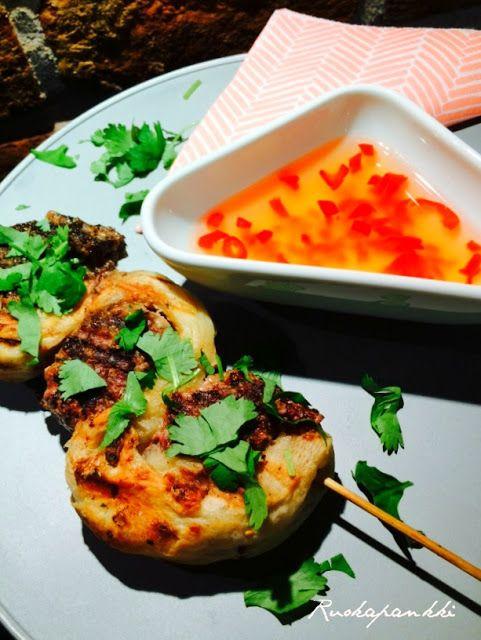 Ruokapankki: Lihapullatikut ja sweet chili kastike