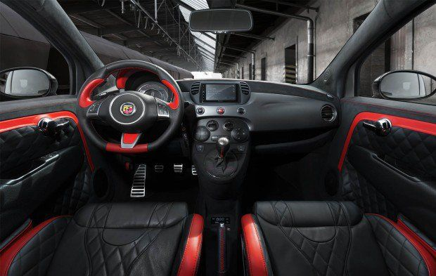 Fiat 500 Abarth da Pogea Racing