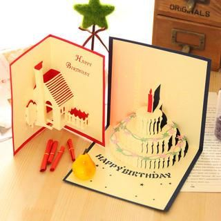 Stereoscopic Birthday Card from #YesStyle <3 Cuteberry YesStyle.com