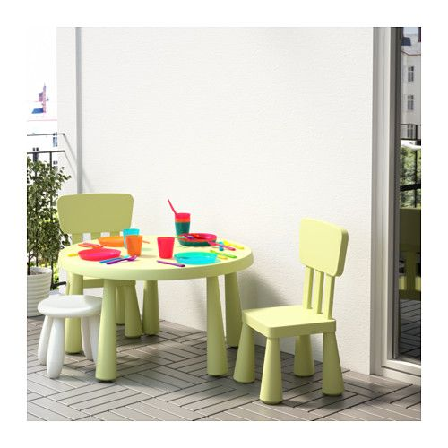 mammut children 39 s table ikea made of plastic which makes. Black Bedroom Furniture Sets. Home Design Ideas