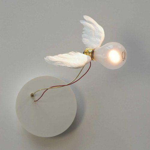 Γγρ│ Très originale lumière, telle un ange - Lucellino NT, Ingo Maurer