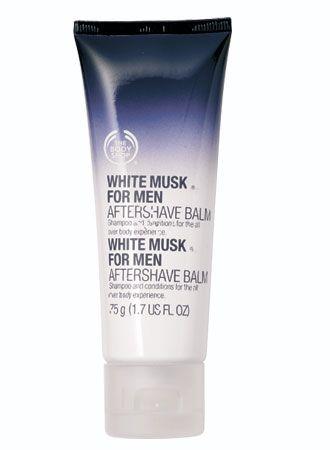 Bodyshop aftershave cream. #thebodyshop #aftershave