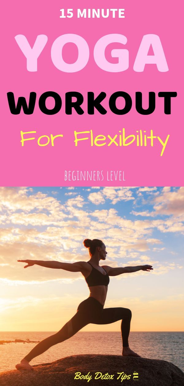 Today i will share with you a 15 minute YOGA workout for flexibility. this  workout is recommended to Yoga for beginners level.