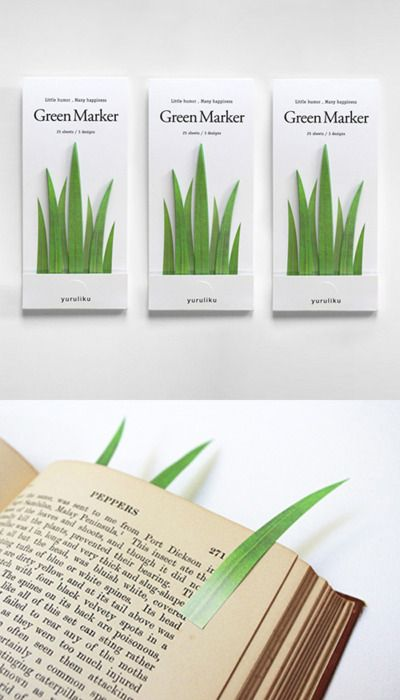 What wonderful book marks! I love to flag as I read for reference. This is a lovely way to do so. #books
