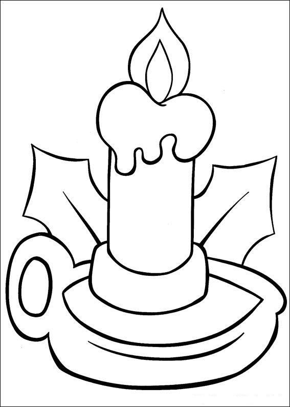 Christmas Coloring Pages For Babies 6